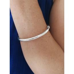 Bracelet Jonc Argent Massif 925