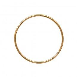 Pendentif anneau plaqué or