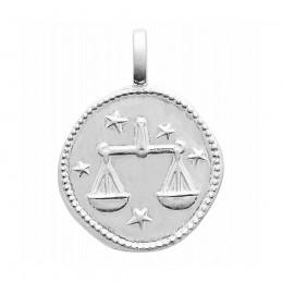 Médaille signe astrologique Balance argent