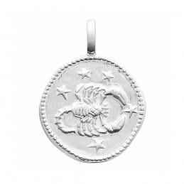Médaille signe astrologique Scorpion argent