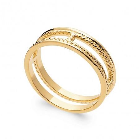 Bague plaqué or anneau