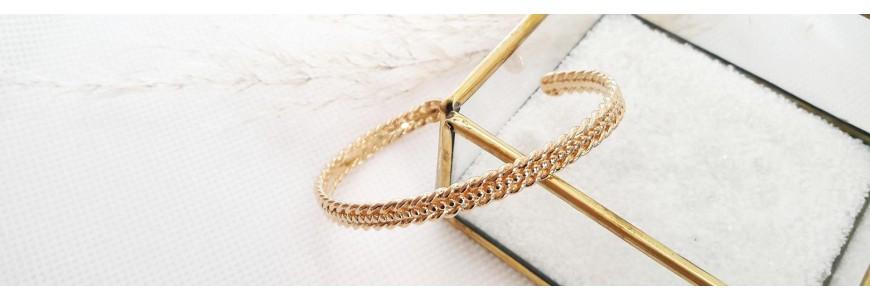 Bracelets Plaqué Or 18 carats - Nouvelle collection