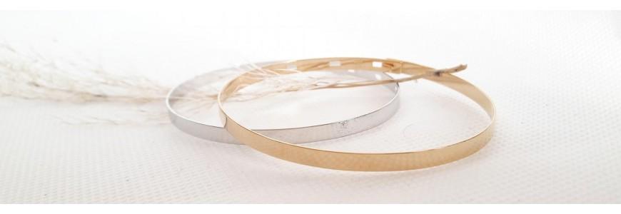 Bracelets Argent 925 et Plaqué Or 18 carats